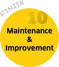Step 10: Maintance & Improvements