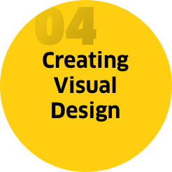 Step 4: Creating visual design